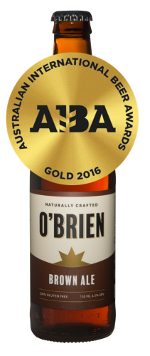 O'Brien Gluten Free Brown Ale Bottles 330ml x 24