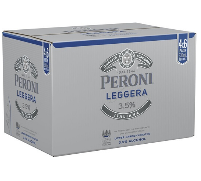 Peroni Leggera Stubbies 330ml x 24