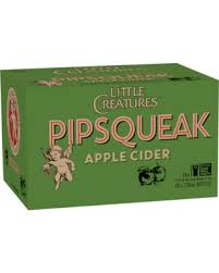 Little Creatures Pipsqueak Cider 330ml x 24 Bottles