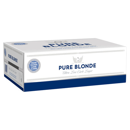 Pure Blonde 4.2% Cans 375ml x 24