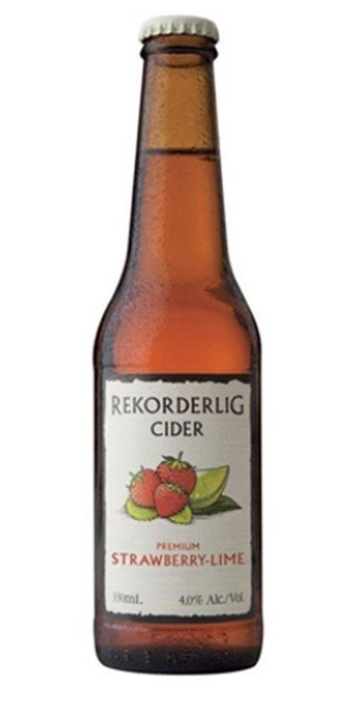 Rekorderlig Strawberry Lime 330ml x 24 Bottles