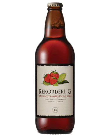 Rekorderlig Strawberry & Lime 500ml x 15 Bottles