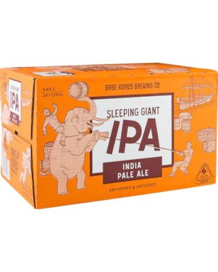 Gage Roads Sleeping Giant IPA Bottles 330ml x 24