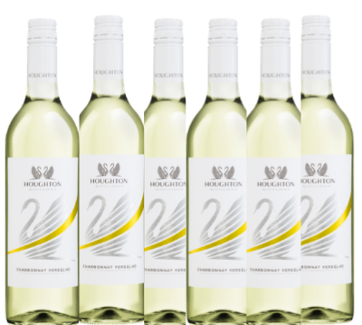 Box of 6 Houghton Stripe Chardonnay Verdelho