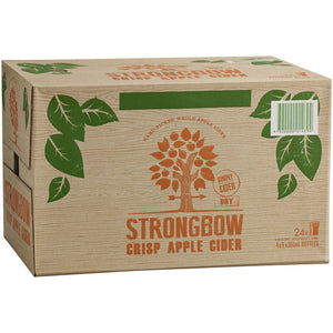 Strongbow Crisp Apple Cider 355ml x 24 Bottles