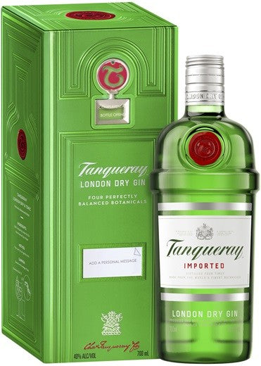 Tanqueray London Dry Gin 700ml Bonus Tin & Bottle Opener