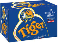Tiger Beer Bottles 330ml x 24