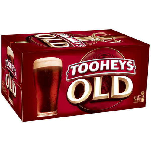 Tooheys Old Stubbies 375ml x 24