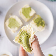 Load image into Gallery viewer, Matcha Latte Buttermilk Bun