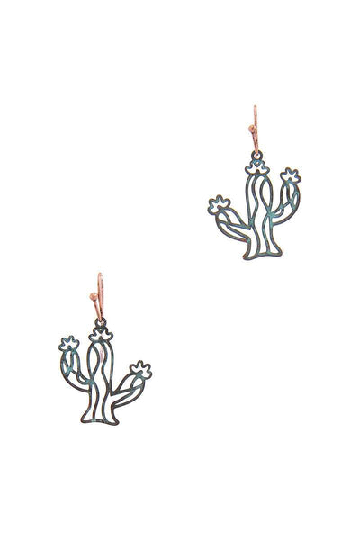 Cactus Drop Earring