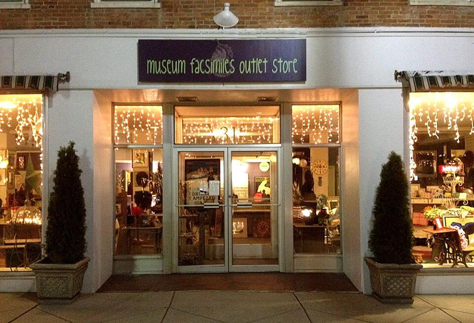 Museum Facsimiles Outlet Store in Pittsfield, MA