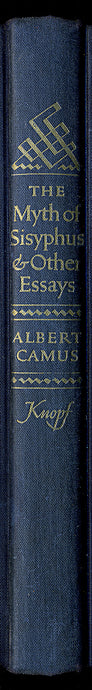 Camus Book Spine Wall Art