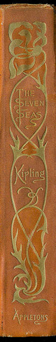 Kipling Seven Seas Book Spine Wall Art