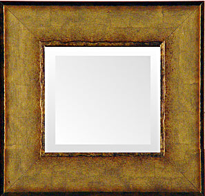 Italian Soft Gold Transitional Mirror
