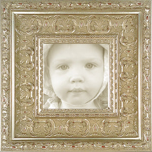 Museum Silver Leaf Baroque Photo Frame