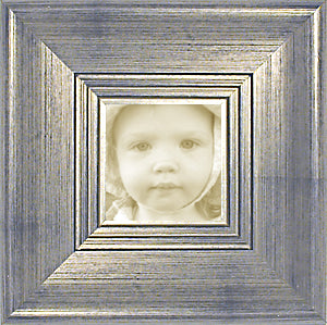 Traditional Silver Wide Photo Frame