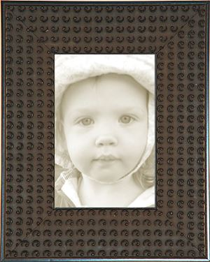 Black Circles Wide Decorative Picture Frames