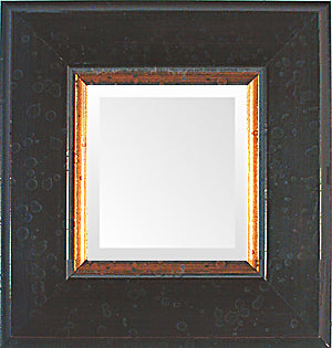 Black Dutch School Small Decorative Mirror