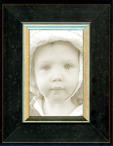 Black Silver Dutch School Picture Frame