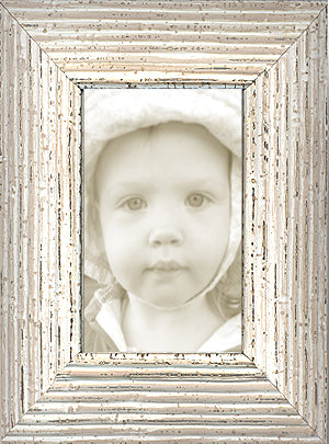 Distressed Shabby Chic Whitewash Picture Frames