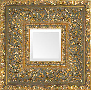 large antique gold museum ornate mirror