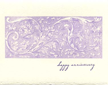 letterpress anniversary cards engraving