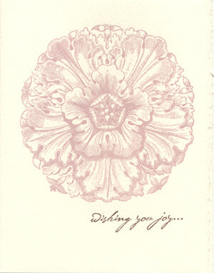 letterpress wedding cards blossom