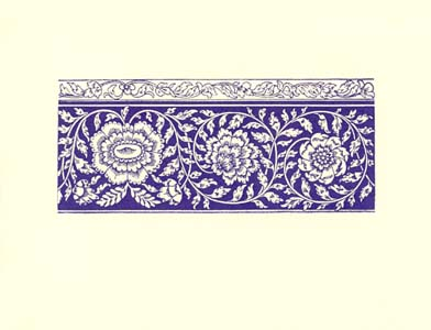 letterpress elegant blank notes purple lace