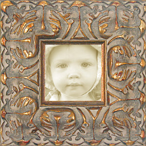 Baroque Wide Antique Gold Ornate Museum Photo Frame