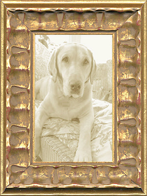 Piecrust Gold Ornate Picture Frame