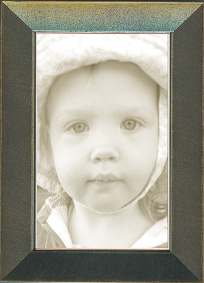 Thin Charcoal Picture Frame