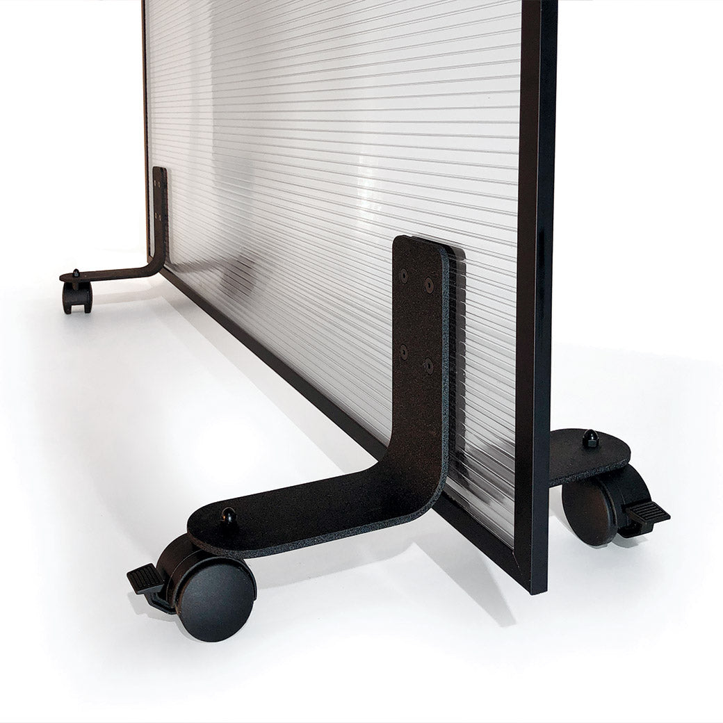 ModiScreen Roller Mitigation Barriers - Portable Sneeze guards