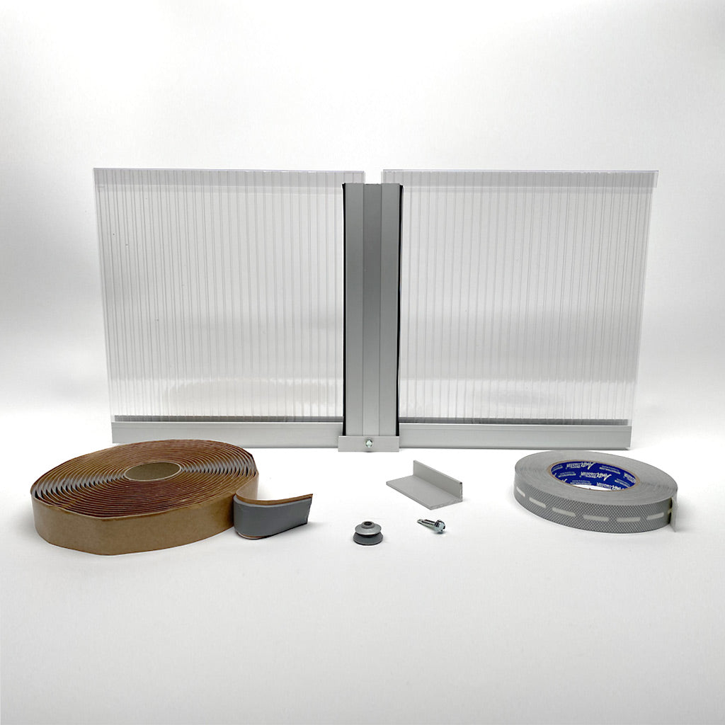 Polycarbonate Multiwall Panels and Systems - 10MM thickness C/W Aluminum or PC Profiles