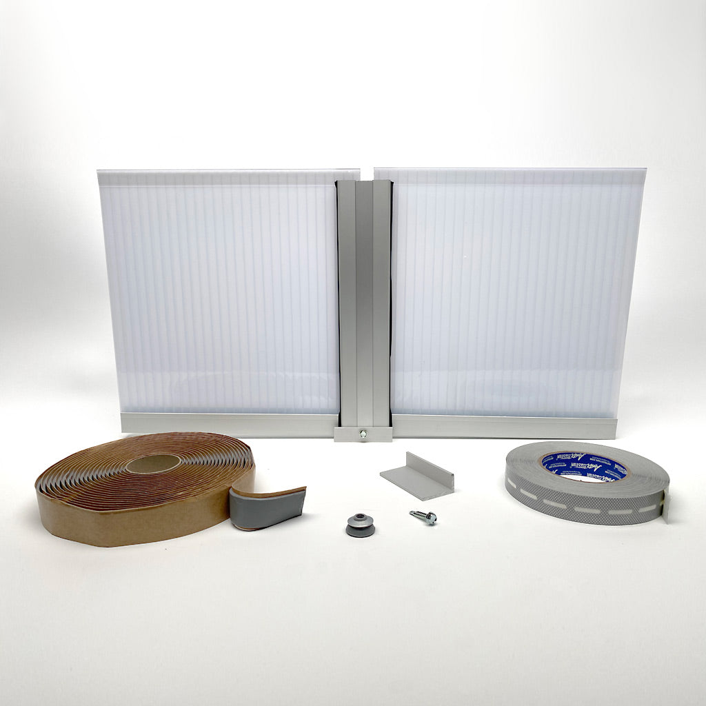 Polycarbonate Multiwall Panels and Systems - 10MM C/W Aluminum or PC Profiles
