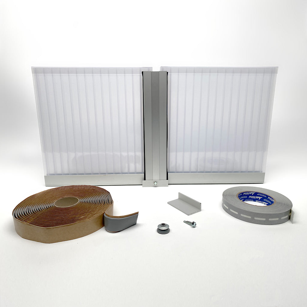 Polycarbonate Multiwall Panels and Systems - 16MM C/W Aluminum or PC Profiles