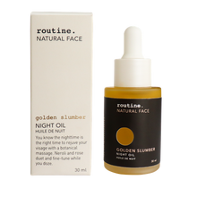 Routine Face Night- Oil - Golden Slumber