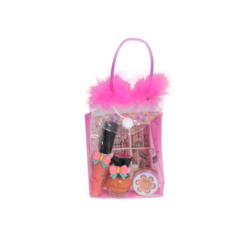 Tutu-Mix TuTu Purse 24 (Lip Gloss 02, Nail Polish 07, Mousse 02) مجموعة ماكياج