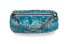 Small Duffle Holo/ Turquoise