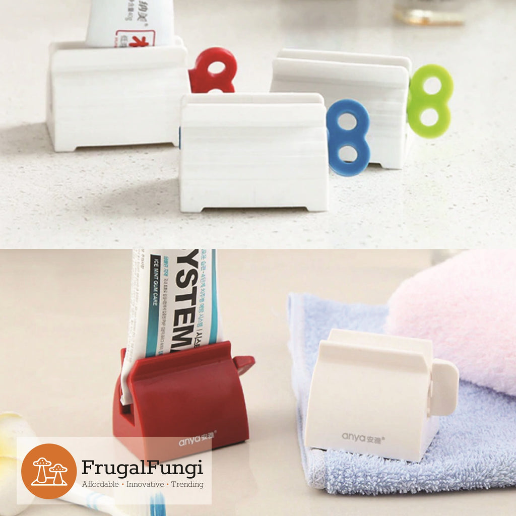 Toothpaste Rolling Dispenser