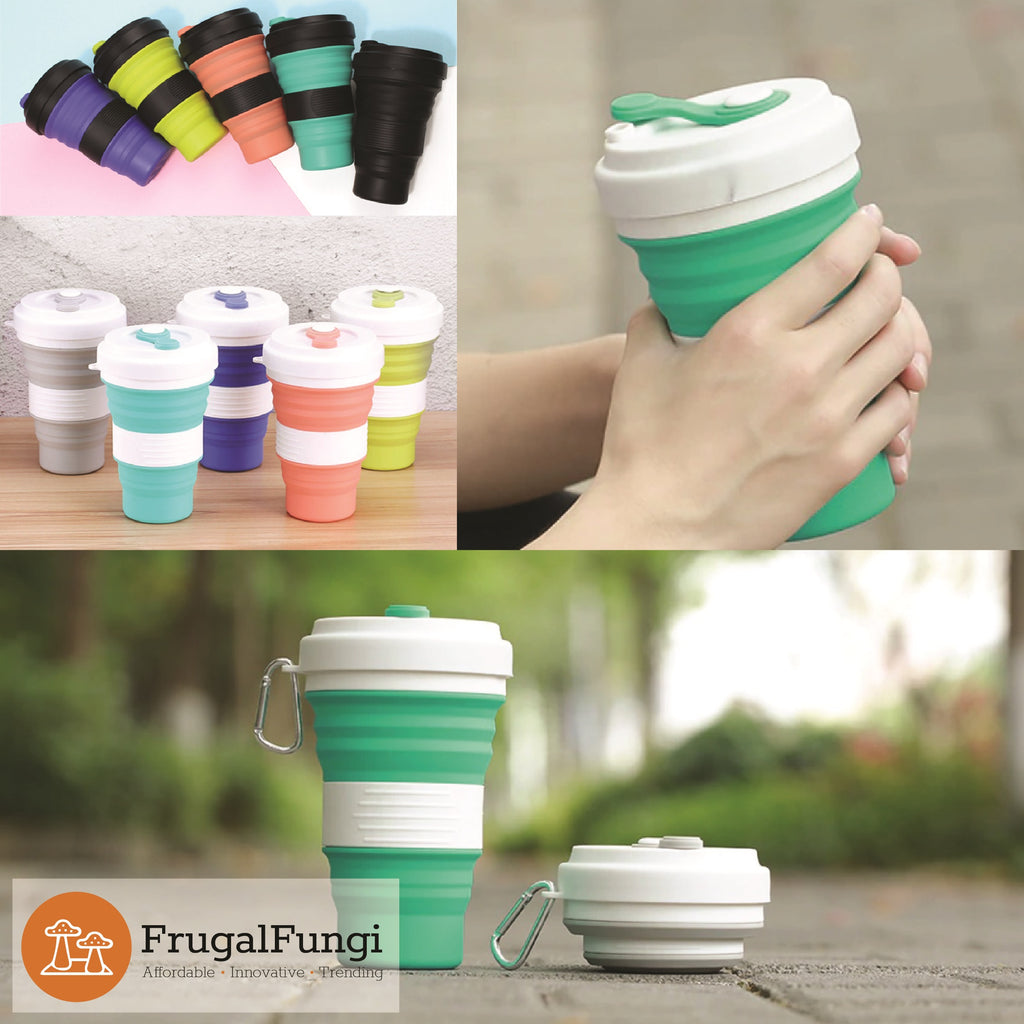 Portable Collapsible Silicone Mugs