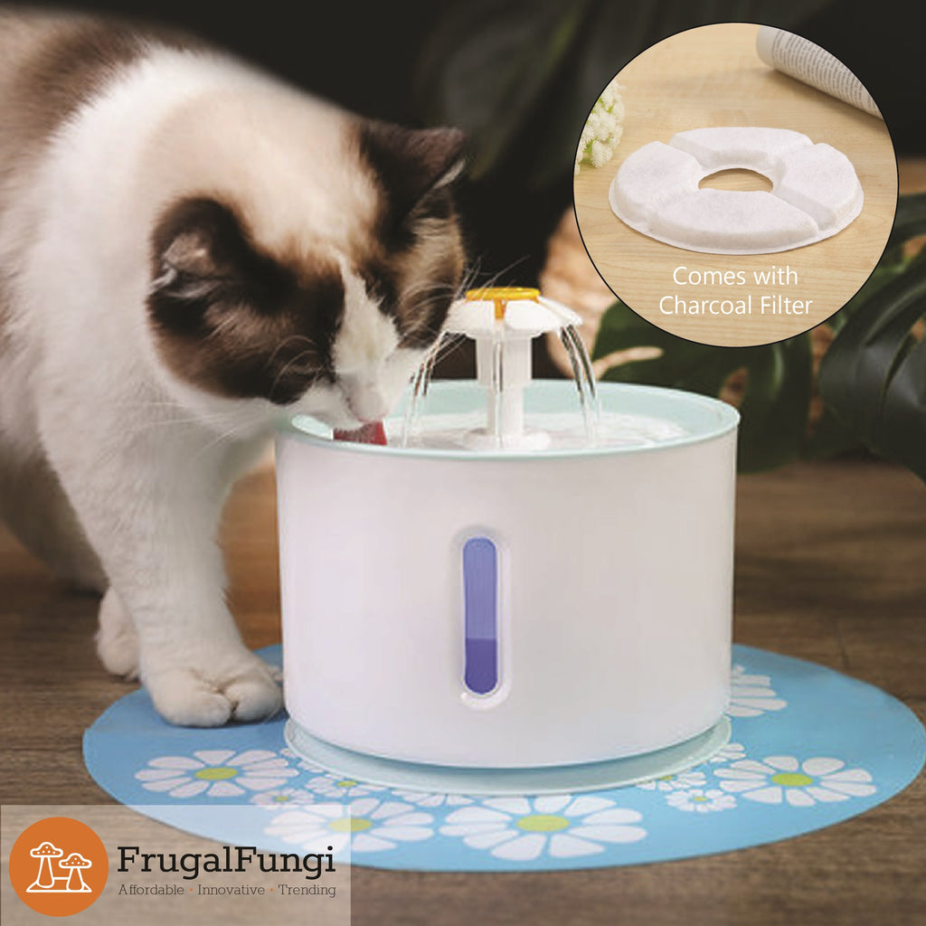 Automatic Pet Water LED Fountain