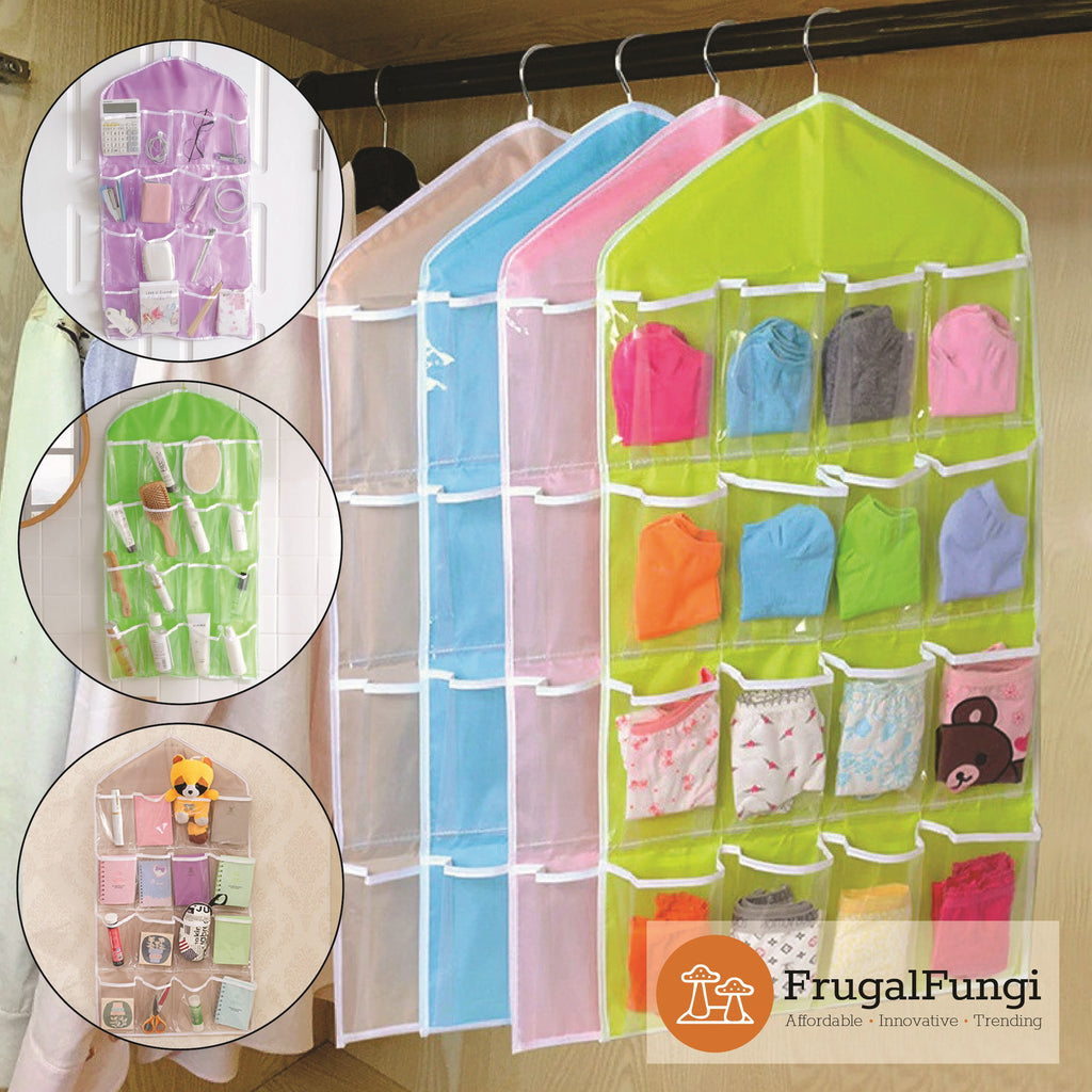 Clear Hanging Organiser