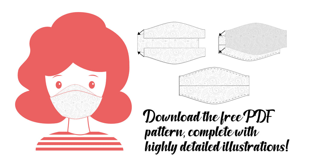 Free mask sewing pattern download