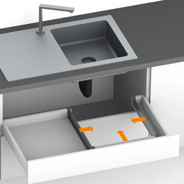 Fixol Sink Drawer Solution