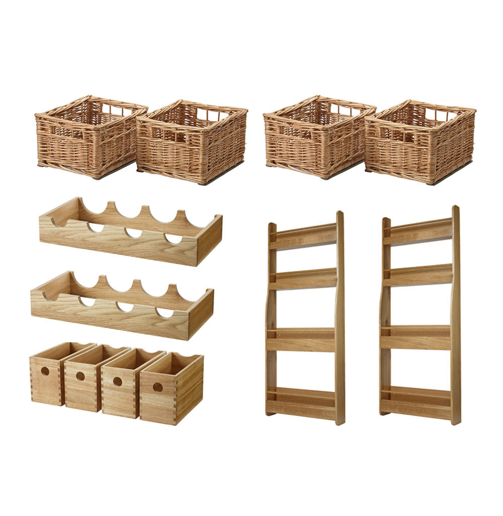 Wooden Larder Accessory Set