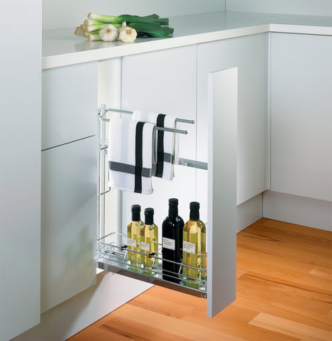 Peka Linea 150mm Base Unit Pull-Out with Towel Rail