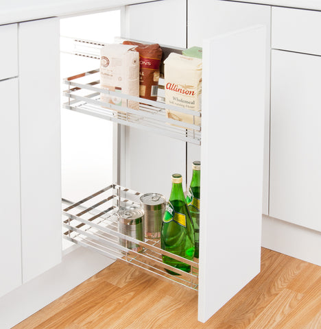Peka Linea 300mm Base Unit Pull-Out with 2 Shelves
