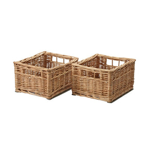 Wicker Basket (Set of 2)