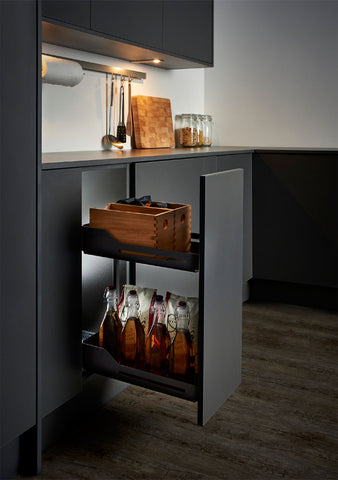 Peka Libell 300mm Base Unit Pull-Out with 2 Shelves