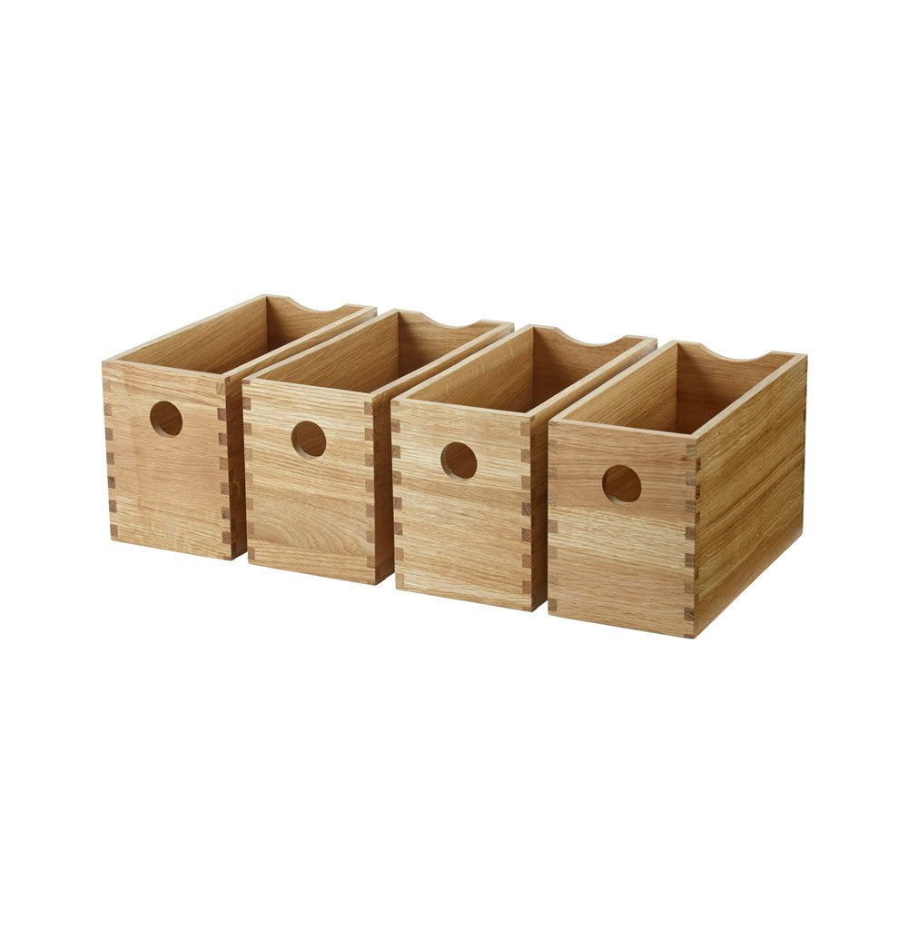 Oak Boxes (Set of 4)